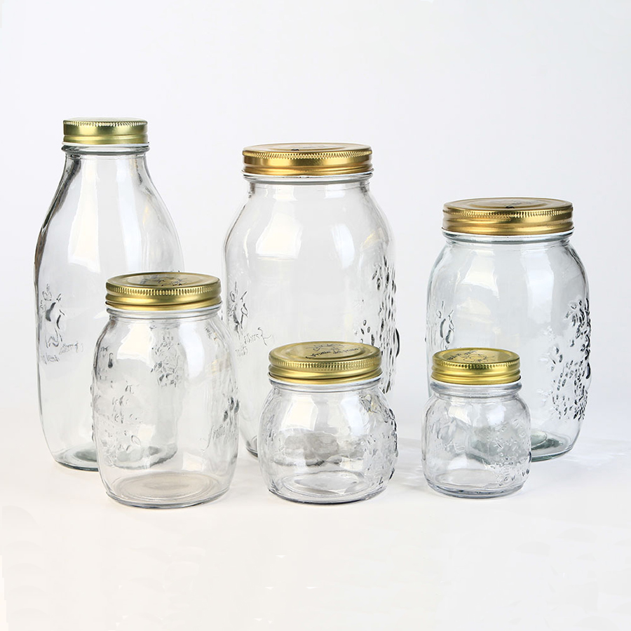 Victorian Square Glass Jar, Victorian Square Glass Jar Suppliers and ...