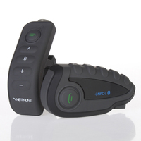 New arrival vnetphone V8 1200m 5 riders bluetooth full duplex intercom