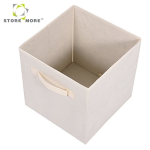 Inno-Crea 6 Pack Non Woven Fabric Foldable Stackable and Collapsible Clothes Cube Storage Box and Bins in Home