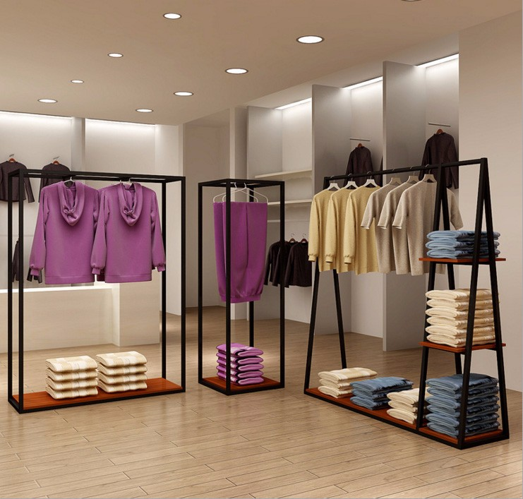 Fashion Retail Clothes Rack Clothing Shop Fitting For