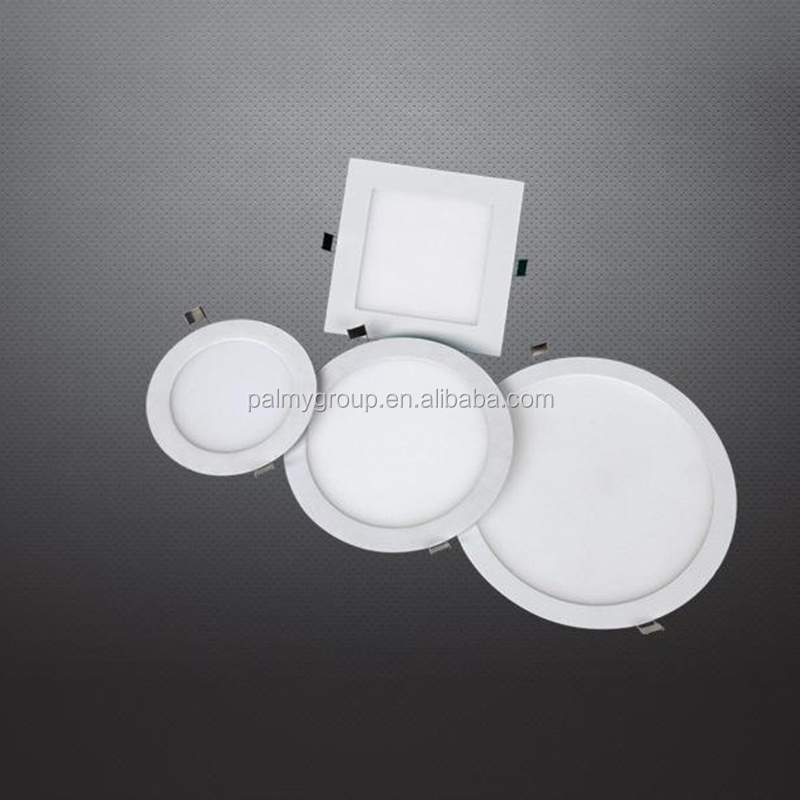 BIS certificate smd round led panel light 3w 6w 9w 12w 18w ultra slim led panel light