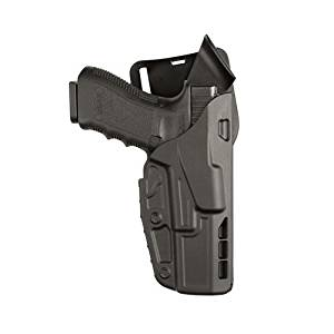 Safariland 7395 7TS ALS Low-Ride 1.5in. Drop, Level-I Retention Duty Holster, Glock 17, 22, Plain