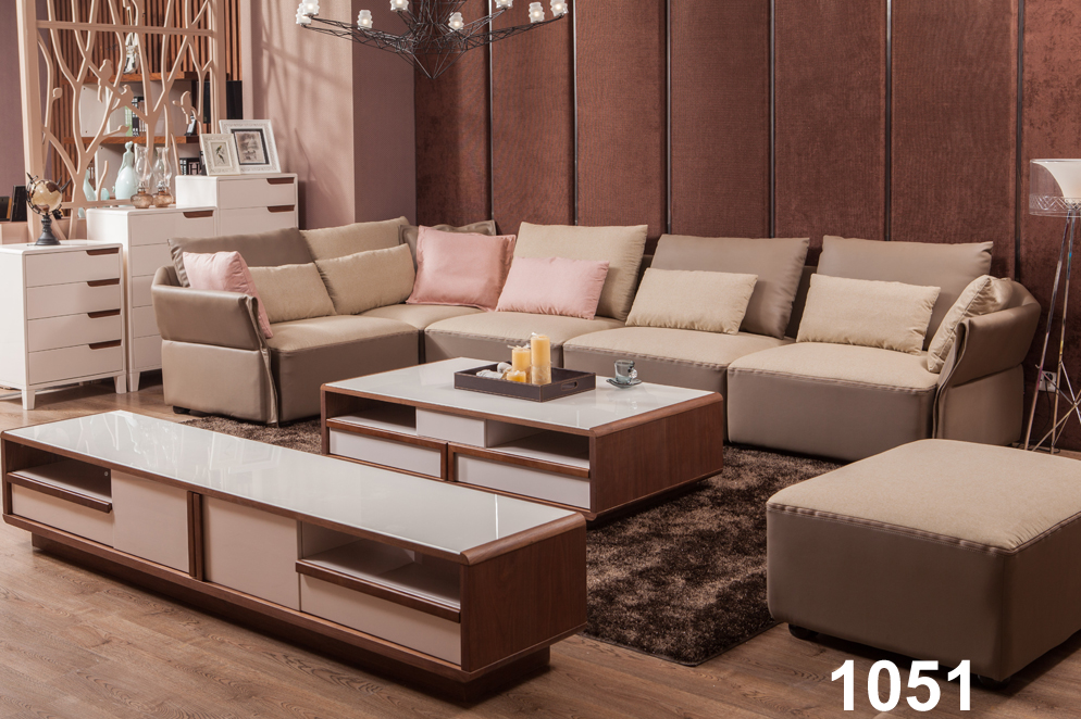Modern Pu Leather Corner Latest Sofa Design For Sofa Area