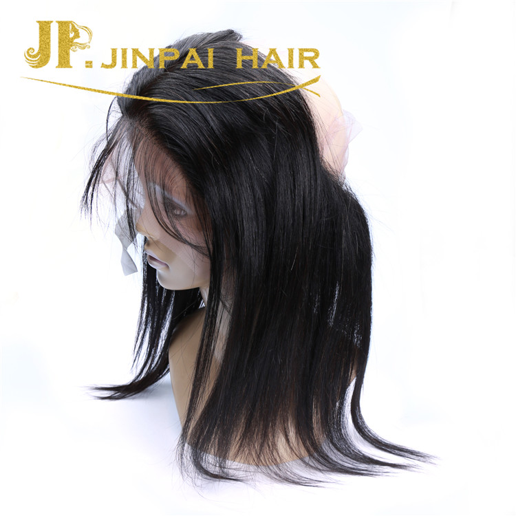 JP Glossy And Bouncy Young Hair Straight 360 Lace Wig In Peruvian
