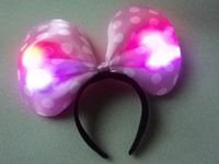 Party supplies tire, light flash hair band, big bowknot head band.