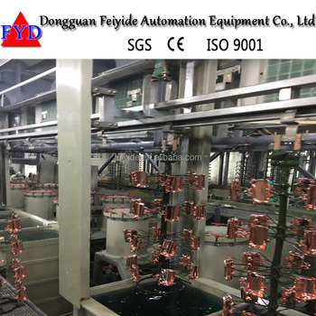Feiyide Automatic Electroplating Machine Electrophosis Line For Gold  Plating With Plating Solution - Buy Automatic Electroplating  Line,Electrophosis
