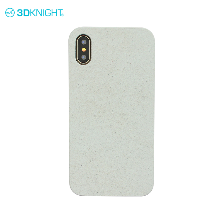 Real cement + black pc phone covers 2 in 1 for iphone X smartphone case cover print