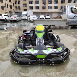 Commercial pvc inflatable karting track for racing