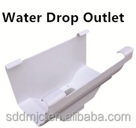 soncap zertifizierung 7 zoll pvc regenwasser dachrinnen. Black Bedroom Furniture Sets. Home Design Ideas