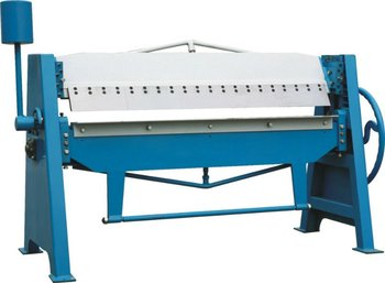 Metal Hand Folding Machine 2mm Aluminum Sheet Manual