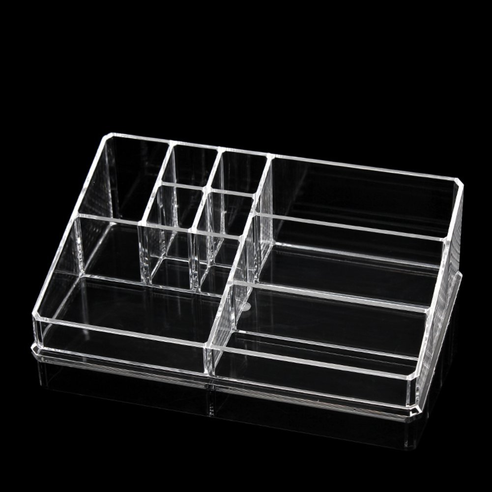Transparent storage boxes for cosmetics/ combination box/ cabinets/Make-up tool storage box-J
