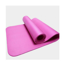 Exercise yoga mat non slip travel yoga mat TPE yoga mats with carrying strap for woman