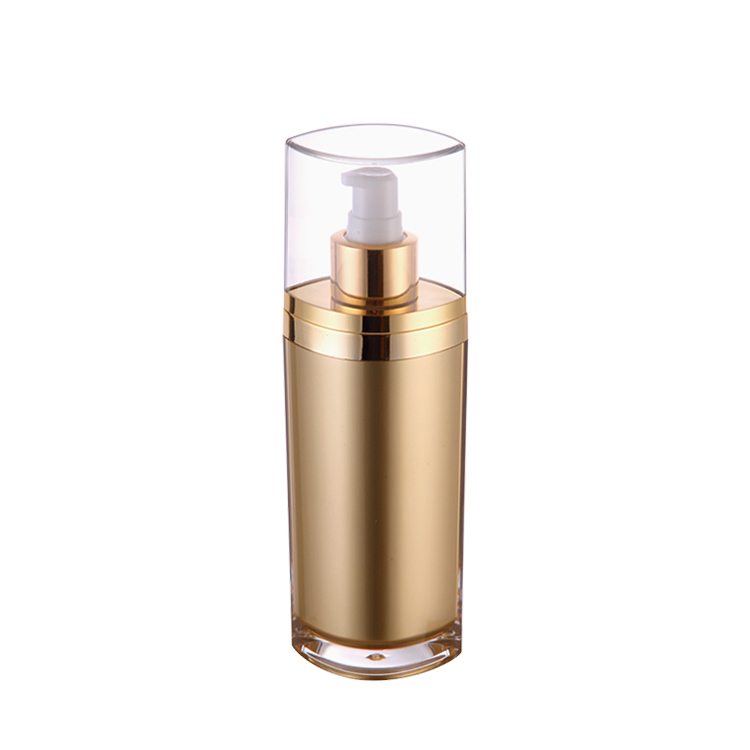 50ML,120ML Professional Golden Airless Bottle for Lotion/Face Cream