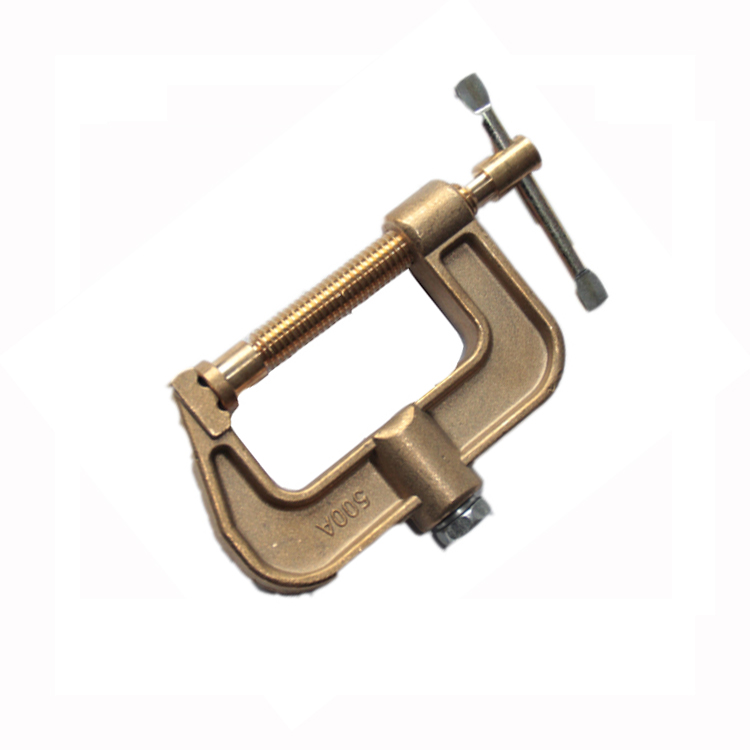 Hot selling ARC Welding 300/500A American Type Earth Cable Clamp with high quality