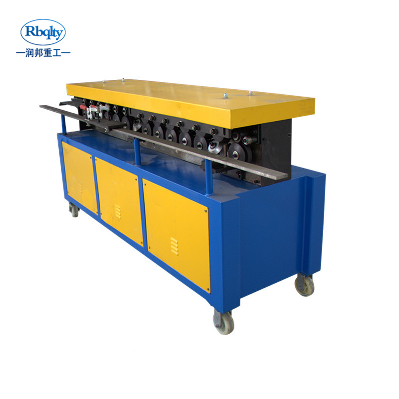 CE certified double linkage TDF duct flange machine for Duct production <strong>equipments</strong>