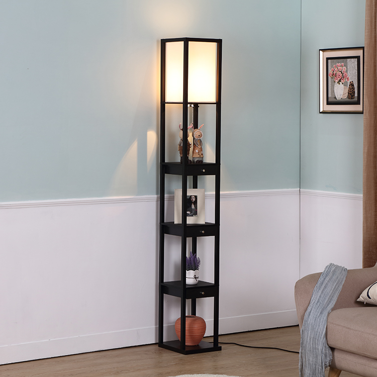 White Light Home Goods Floor Lamps With