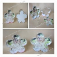 Factory price photo snow globe frame water dome