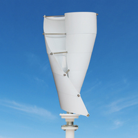 Small Helical Vertical Axis Wind Turbine Generator