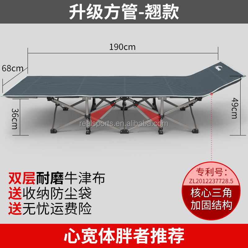 Single Size and Modern,Bunk Bed Style folding camping metal bunk bed/folding bed