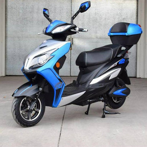 Entry lux India popular factory offered big wheels passenger motor moped