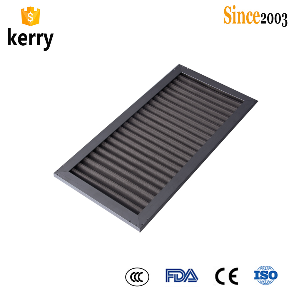 HEPA/ULPA air filters high efficiency mini pleat air filter replacement