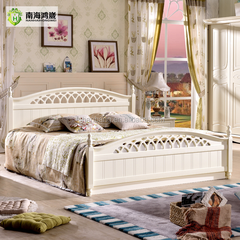 2016 latest storage bed furniture wooden double bed for Latest model bed design