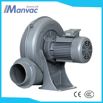three phase 2.2kw TB 125 Large air flow electric air moving industrial high pressure blower fan 220v