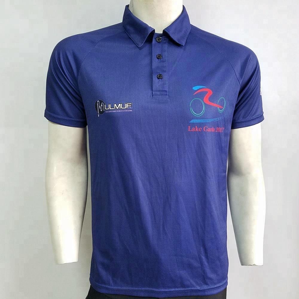 Sublimated Transfer Printing Dry Fit Custom Polo Shirts Buy Custom