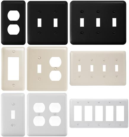 Powder Coating Steel Wallplate