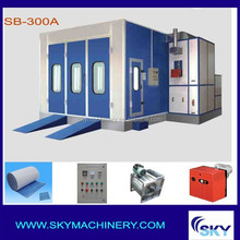 SB300A, Water-borne Paint Spray Booth Auto Paint Spray Booths/tint kits