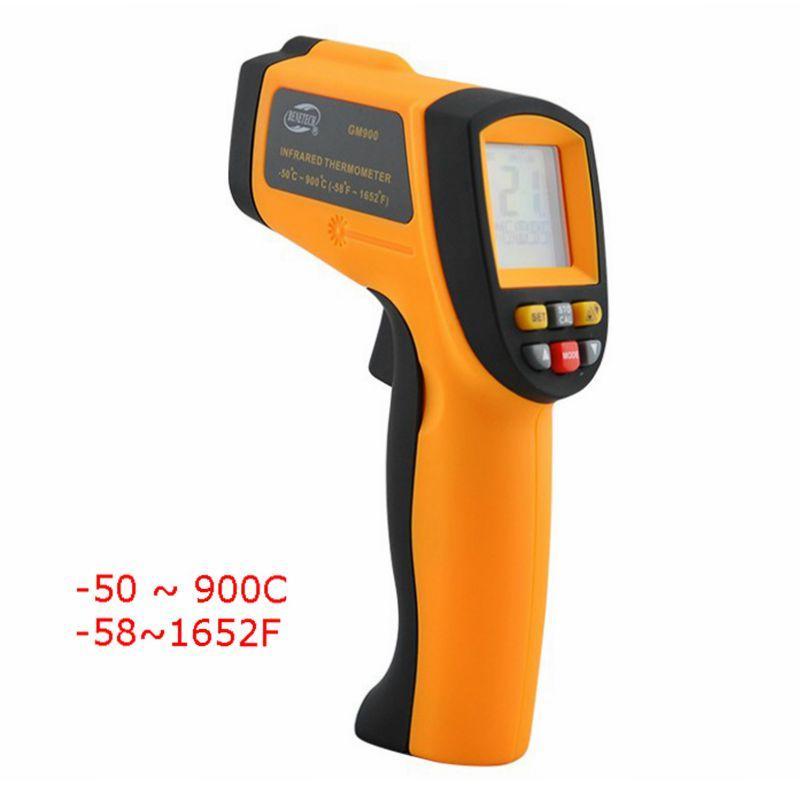 Original BeneTech GM900 -50~900C -58~1652F Pyrometer 0.1~1EM Celsius IR Infrared Thermometer free DHL - KingCare | KingCare.net