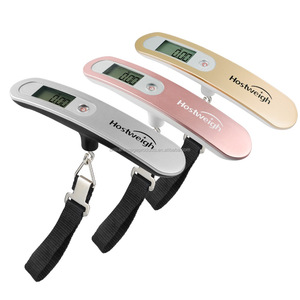 LCD Digital Travel Weight Electronic Fishing Luggage Scale 50kg Weighing Hanging Scale
