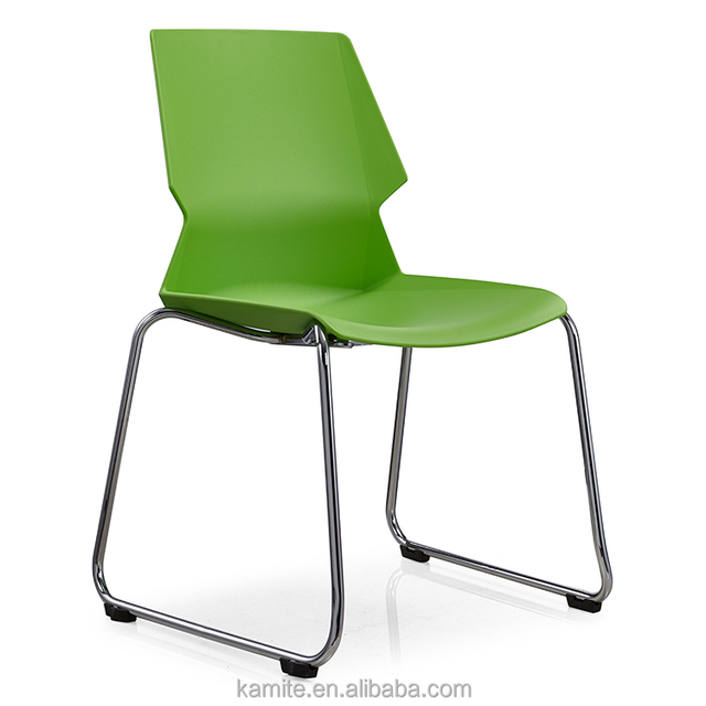 Fabric Seat Tubular Metal Frame Dining Leisure Chair