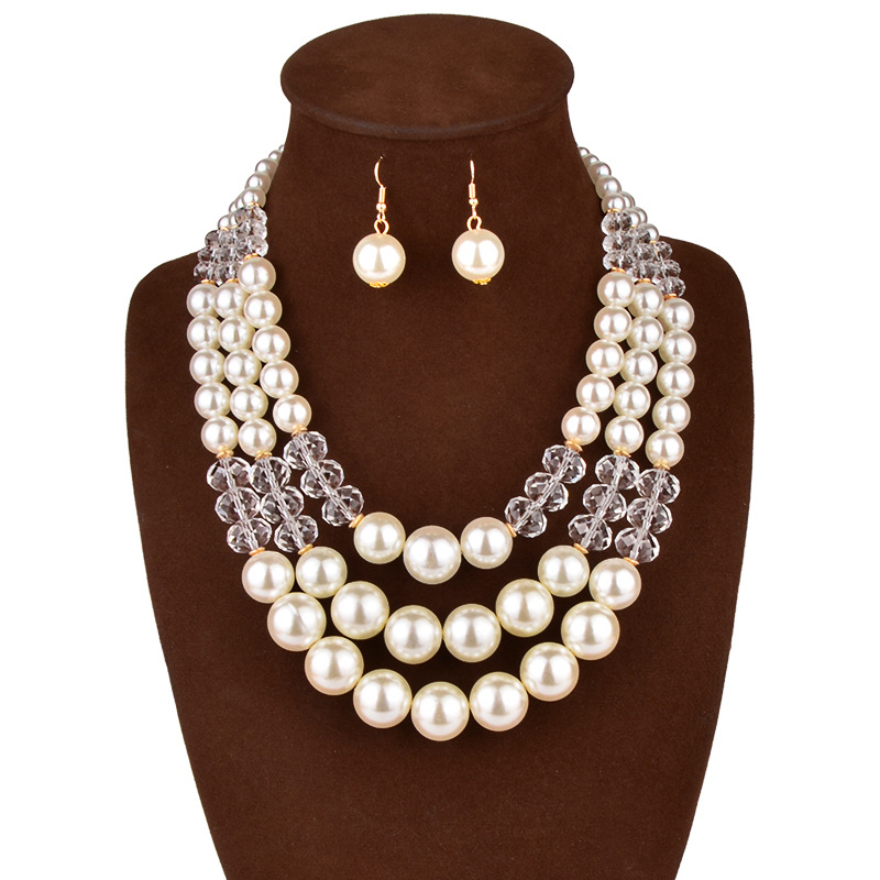 Cheap Pearl Necklace Sets: Popular Cheap Pearl Bridal Jewelry Sets-Buy Cheap Cheap
