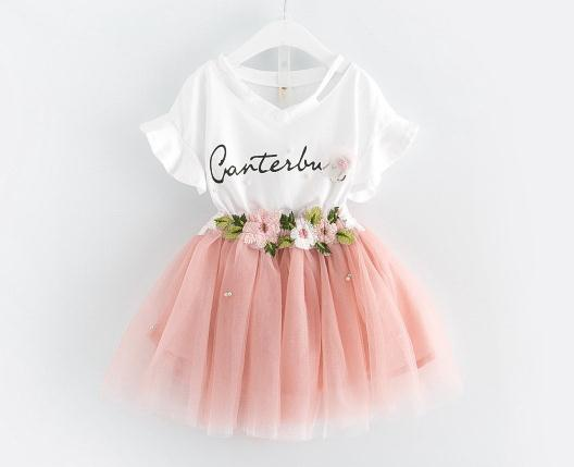 2018 baby tutu dress fashion girl clothes stylish party wear dresses for girls kids frock infant clothing toddler garment
