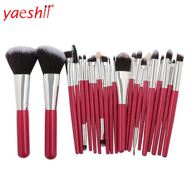 Yaeshii 19 Pcs Makeup Brush Kit High Quality Custom Logo Makeup Brushes