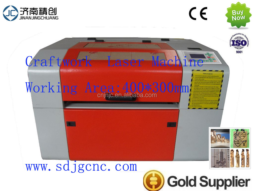 High precision and best quality craftwork laser engraving cutting machine 4030