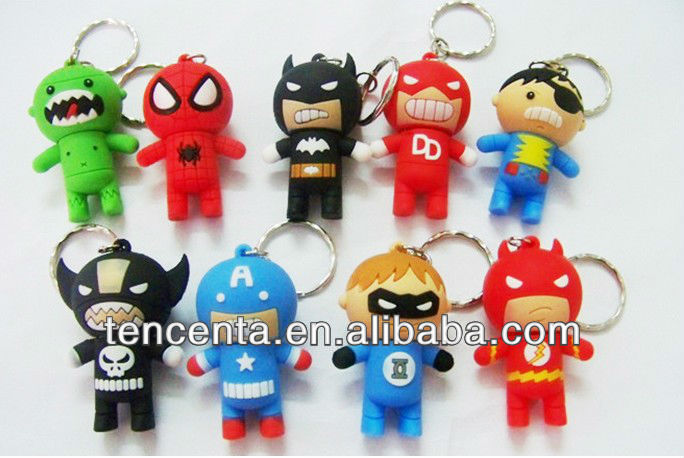 2014Shenzhen Hot selling wholesale novelty usb super hero 1GB-32GB for promotion