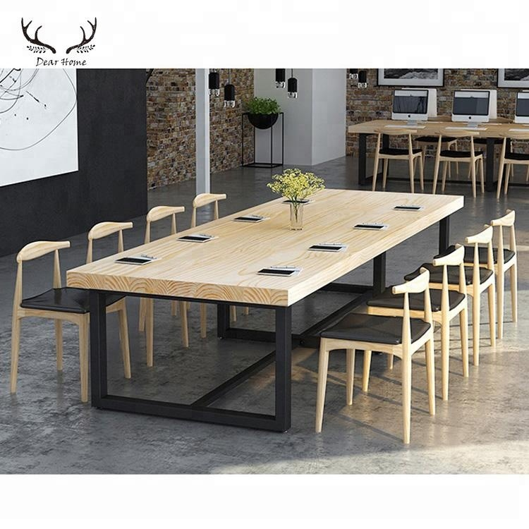 Dining Table Natural Wooden Countertop