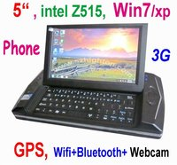 "cheapest factory 5"" intel Z515 win7/xp UMPC"