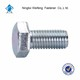 china top quality High quality DIN933 stainless steel din933 Wholesale hex head screw bolt din 930 hex bolt