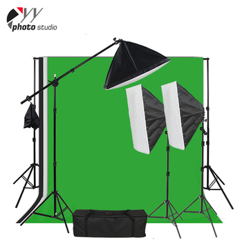 Custom collapsible green screen backdrop photography kits