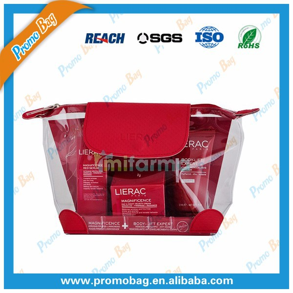 Transparent PVC Make Up Bag Clear PVC Make Up Bag