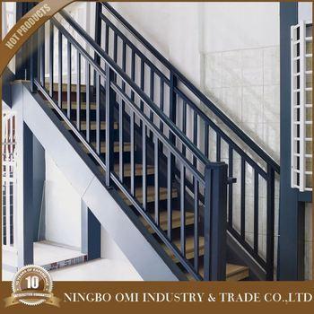 Prefab Metal Stair Railing Safety Net Plexigl Deck