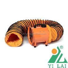 PVC Negative Pressure Flexible Duct For Portable Fan/ large diameter pvc flexible ducting
