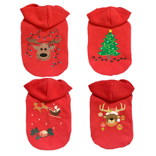 Pet accessory dog clothes Teddy cotton sweater coat dog pet christmas costume