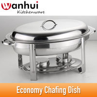 Economy Hot Sell Tiger Leg Oval Chafing Dish