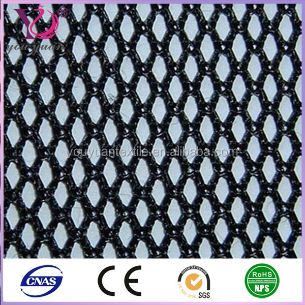 Mesh & Brushed Fabric 100% tricot recycled polyester fabric for shoes