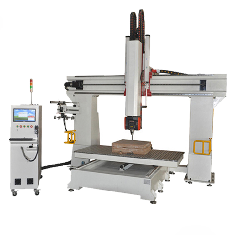 1325 spindle swing 180 degree 3d carving 4 axis 5 axis cnc router for polyurethane spray foam cutting