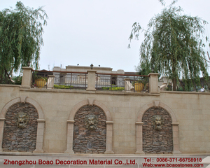 Building insulation decorative materials wall facade stone plastic panel price